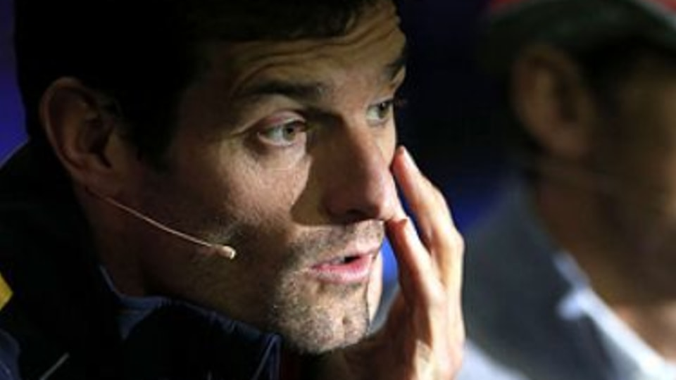 Mark Webber -  the genuine contender who survived in a cut-throat world