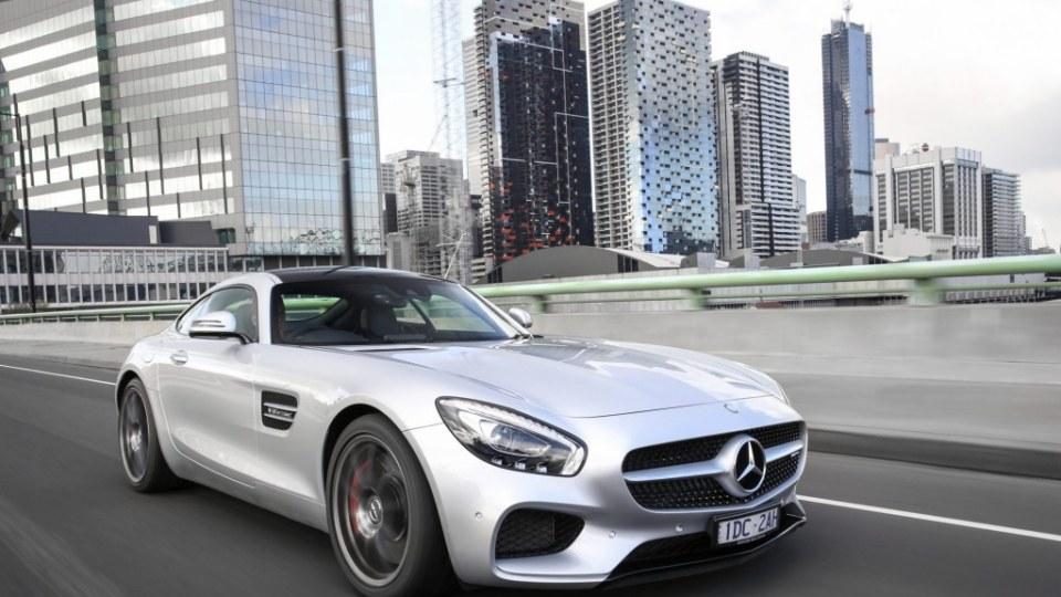 Mercedes-AMG GT is a head-turner.
