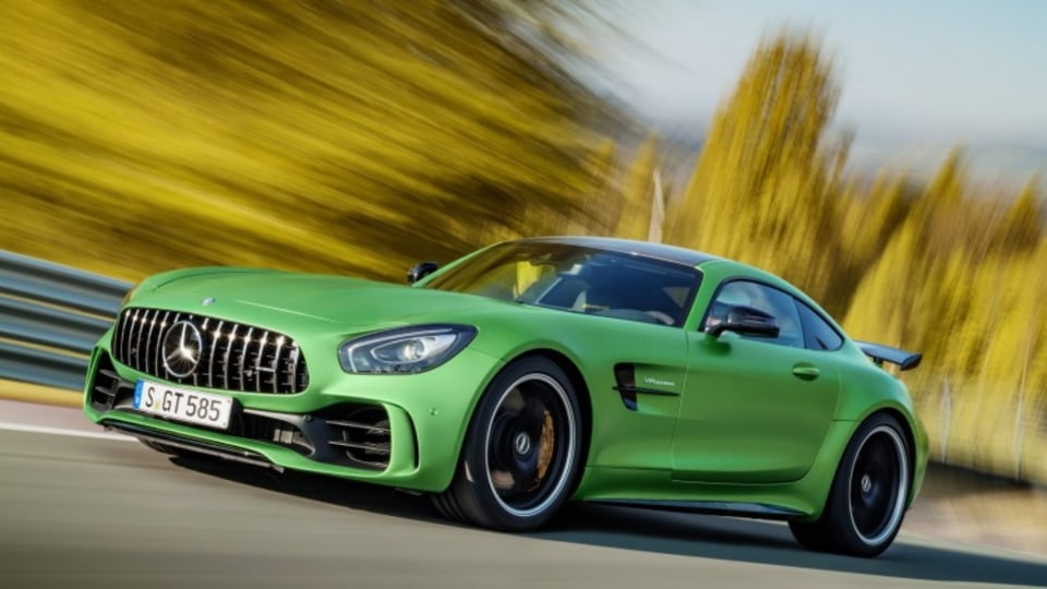 The Mercedes-AMG GT R is the brand's new performance hero.