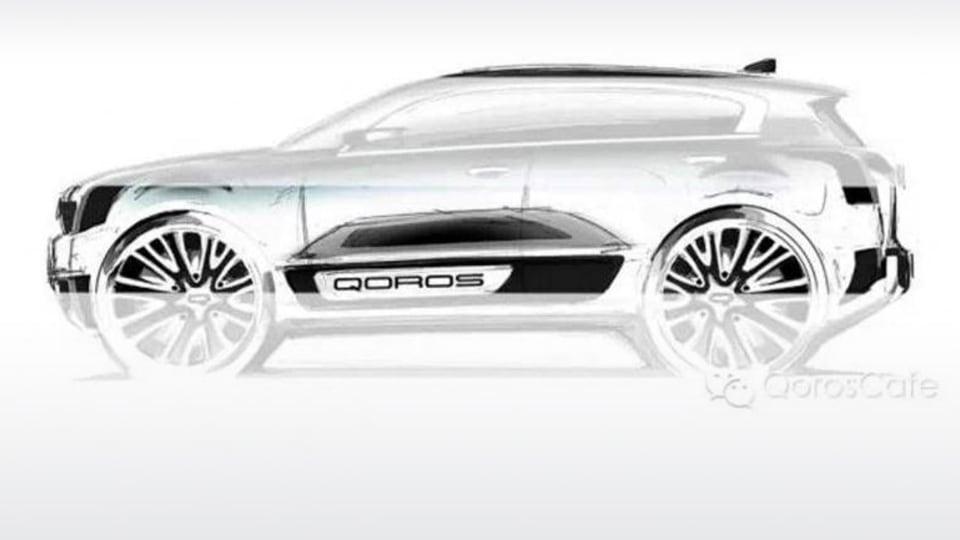 Qoros Teases New Compact SUV Ahead Of Shanghai Debut