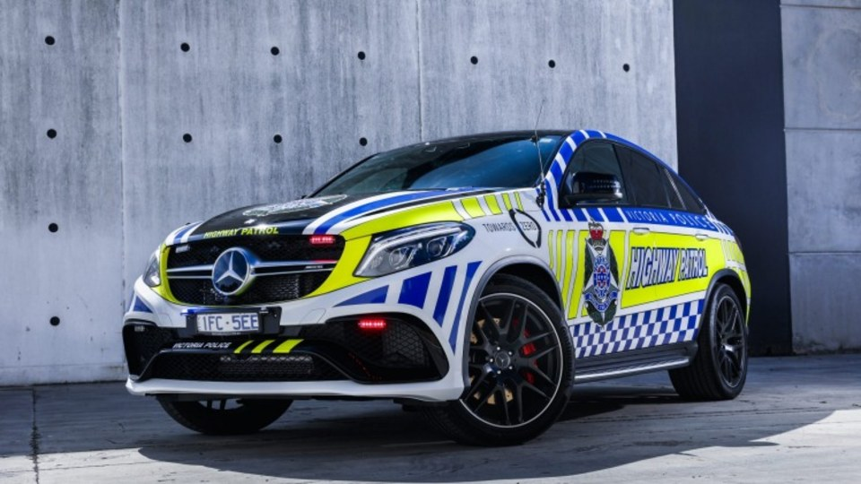 Victoria Police will use the new Mercedes-AMG GLE63 Coupe for highway patrol duties and for educational purposes.