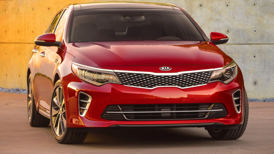 New Kia Optima Revealed In First Official Image Ahead Of New York