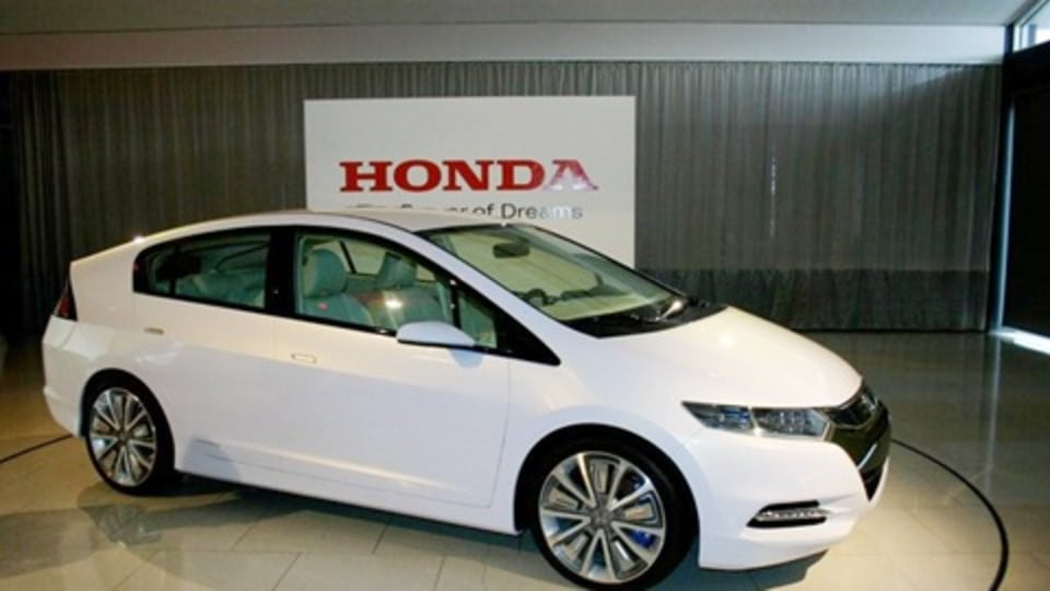 2009 Honda Insight Revealed Ahead Of Melbourne Motor Show
