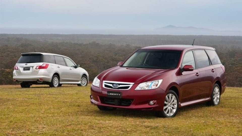 2010 Subaru Liberty Exiga Launched In Australia, Available From November