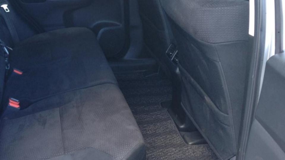 Honda CR-V rear seats.