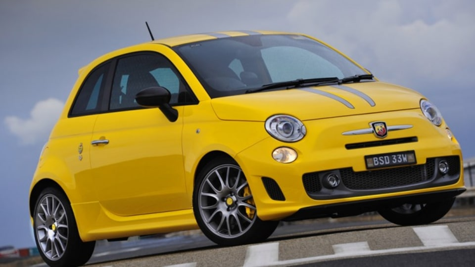 The Abarth 695 Tributo Ferrari charges a premium for wearing a Ferrari badge.