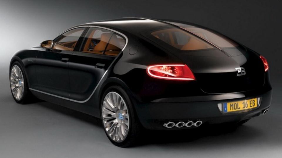 The Bugatti Galibier concept.
