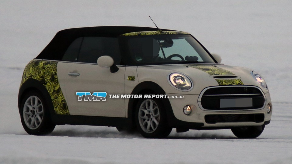 2015 MINI Cooper Cabriolet Spied Testing