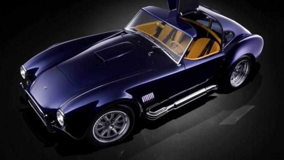 AC Cobra Rides Again, This Time As Mk VI Gullwing