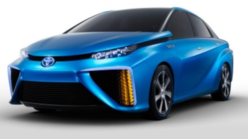 Toyota opens hydrogen patents
