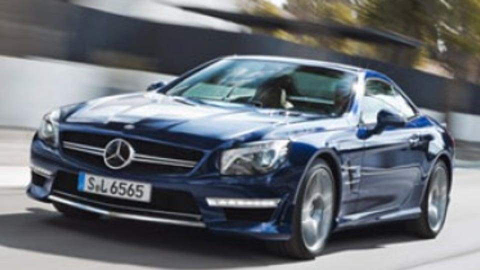 Mercedes-Benz reveals new SL65 AMG