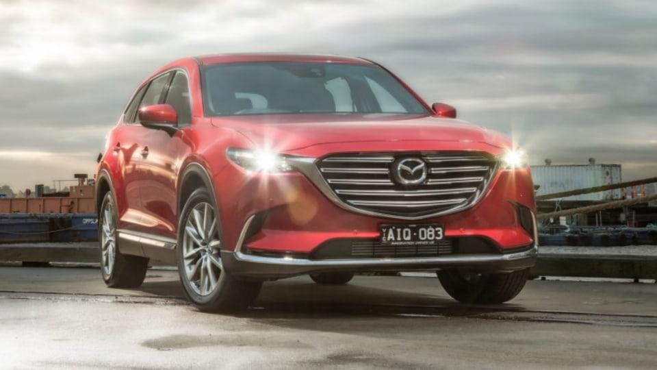 2016 Mazda CX-9 GT.