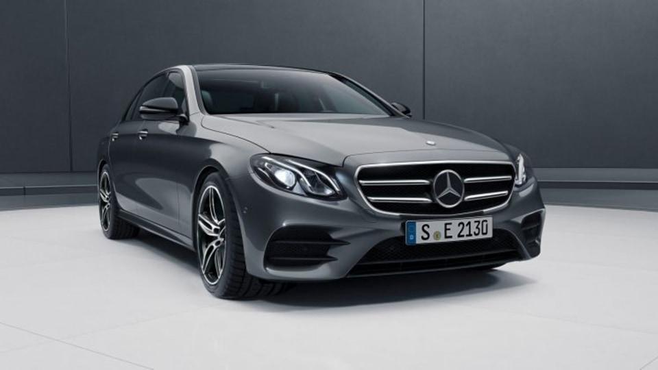 2017 Mercedes-Benz E-Class Night Edition.