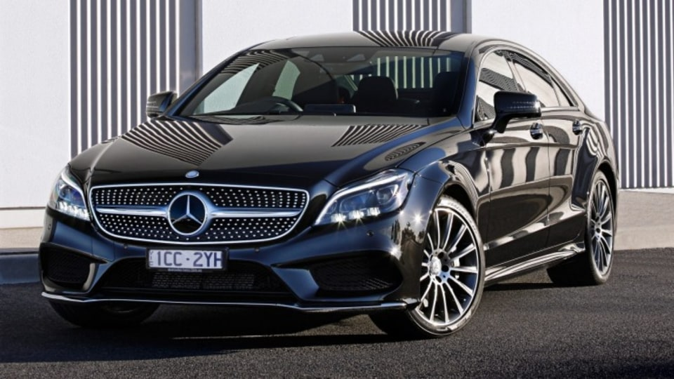 The Mercedes-Benz CLS 500 had pedigree on its side