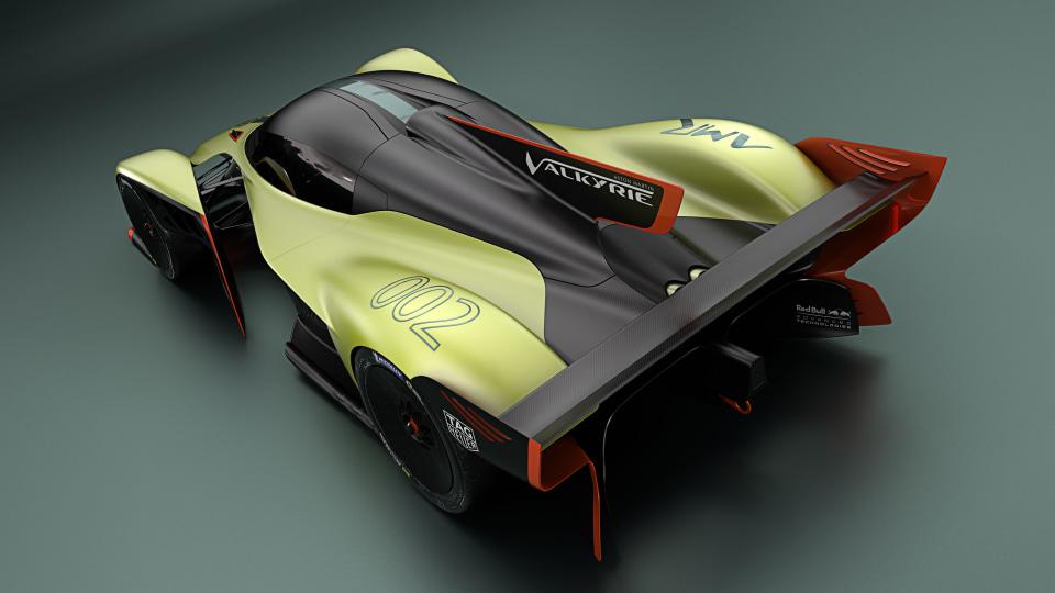 2020 Aston martin Valkyrie AMR Pro.