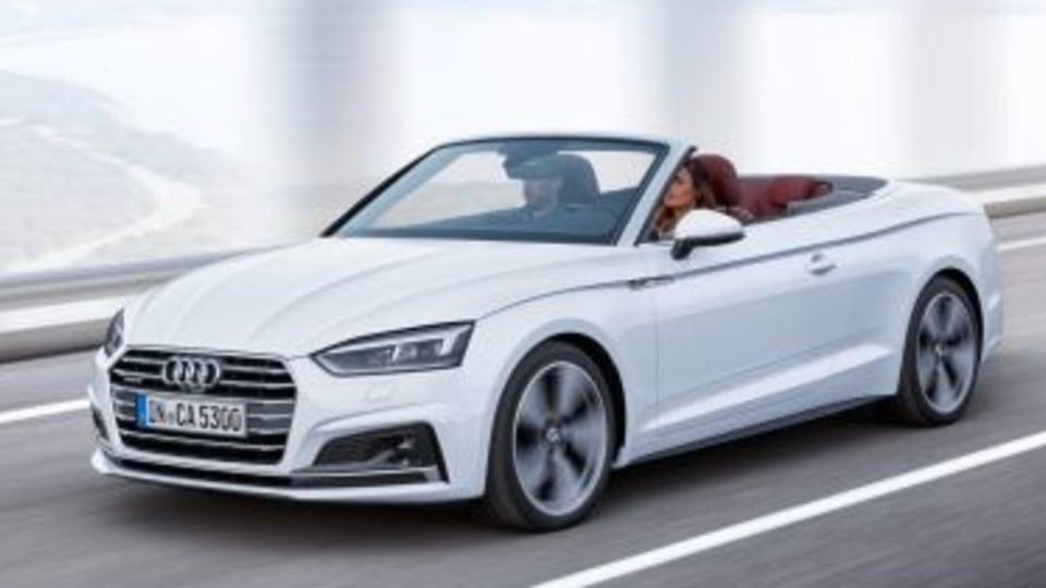 2017 Audi A5 Cabriolet revealed
