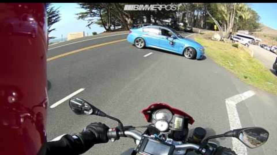 2014 BMW M3 Caught In Filming