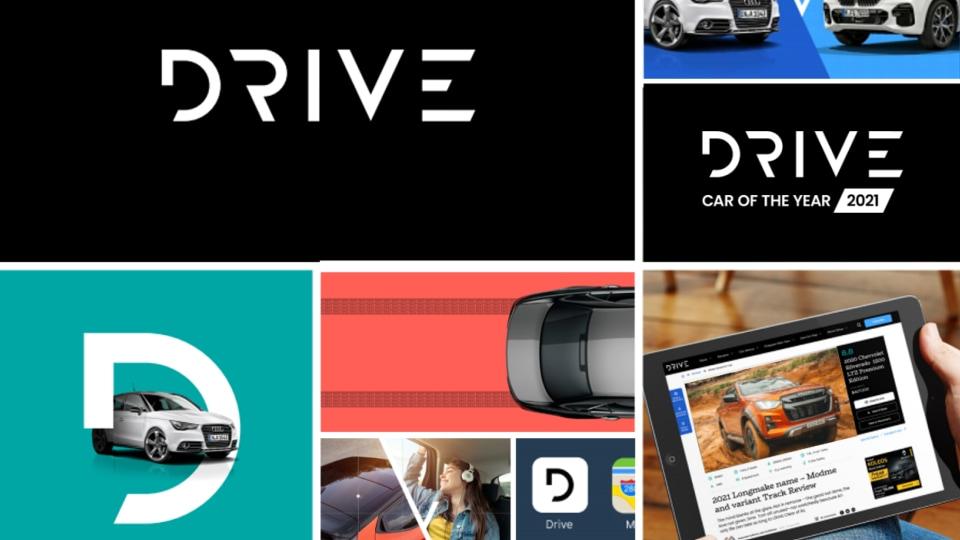 new drive website brand