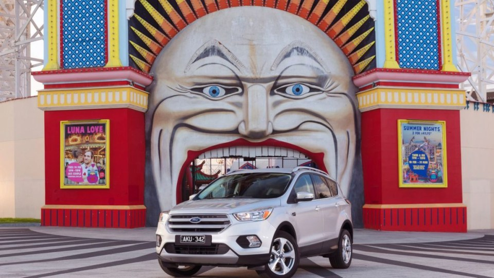 2017 Ford Escape Trend.