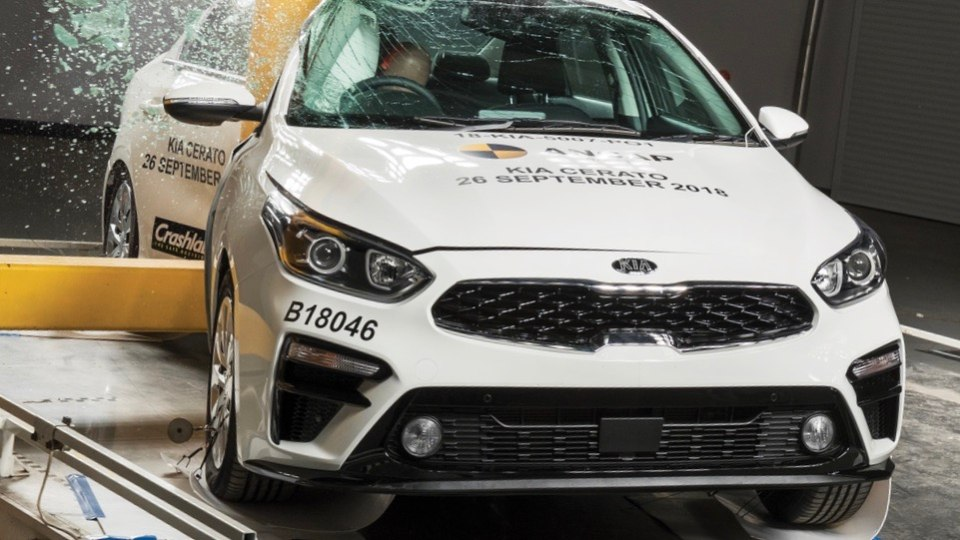 Kia Cerato get split ANCAP rating