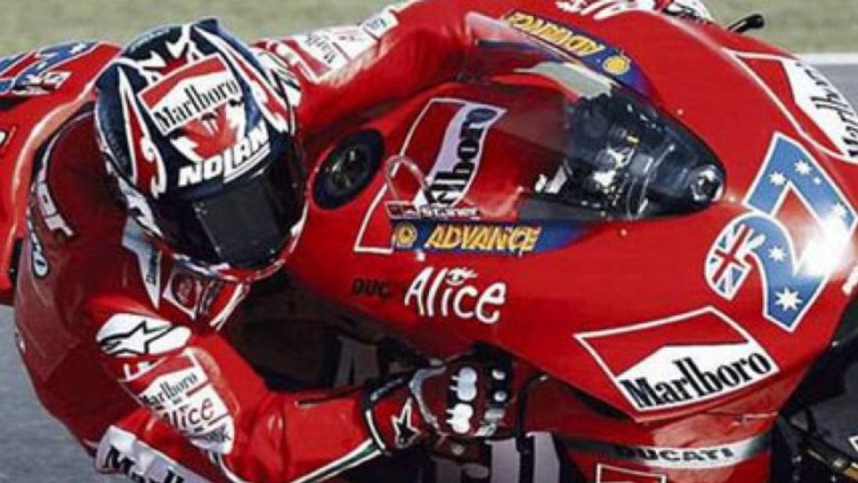 "Too good ""¦ Australian Casey Stoner rides a flawless race to win his first MotoGP. Photo: Reuters/Fadi al-Assad"