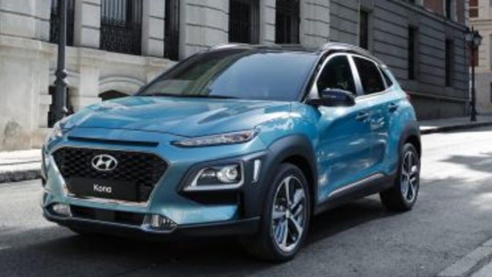 2018 Hyundai Kona.