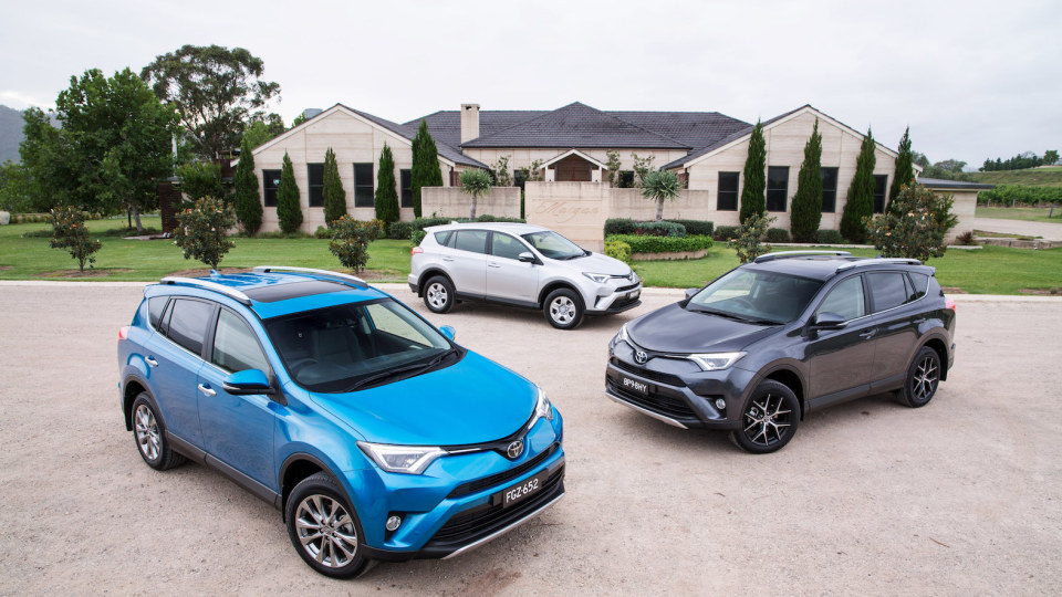 2017 Toyota RAV4 - Price And Features For Updated SUV