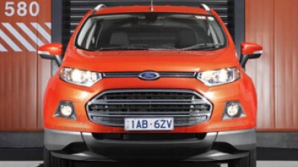 Ford EcoSport SUV priced from $20,790