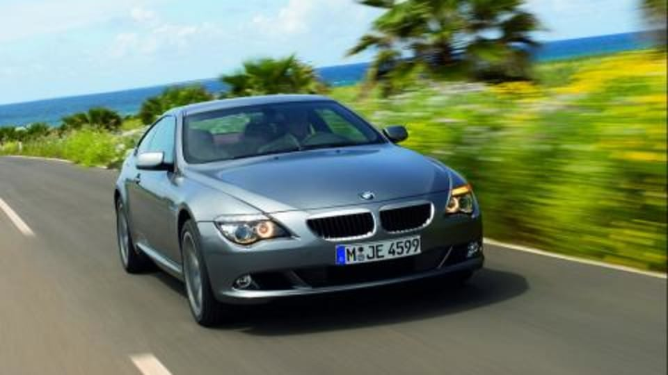 BMW 6-Series facelift