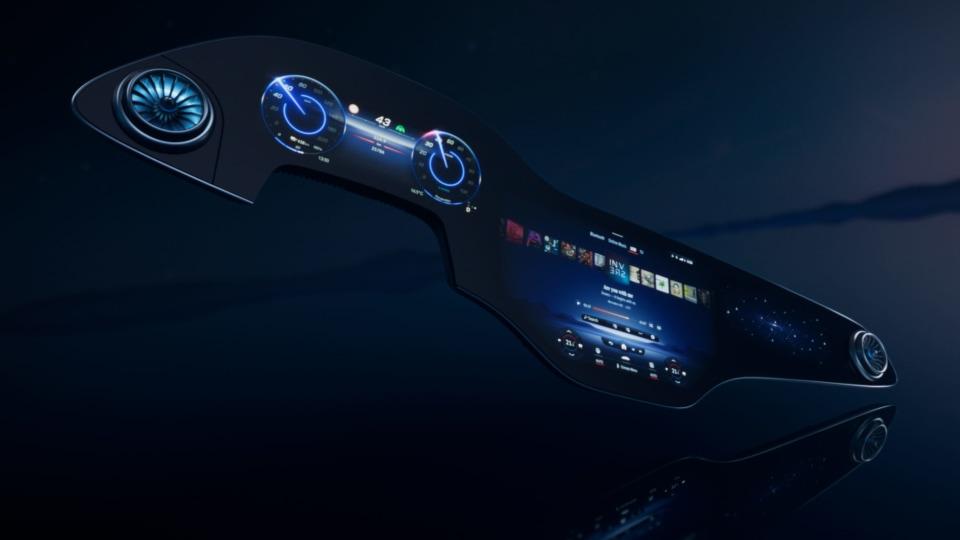 2021 Mercedes-Benz EQS: Next-gen MBUX Hyperscreen infotainment revealed
