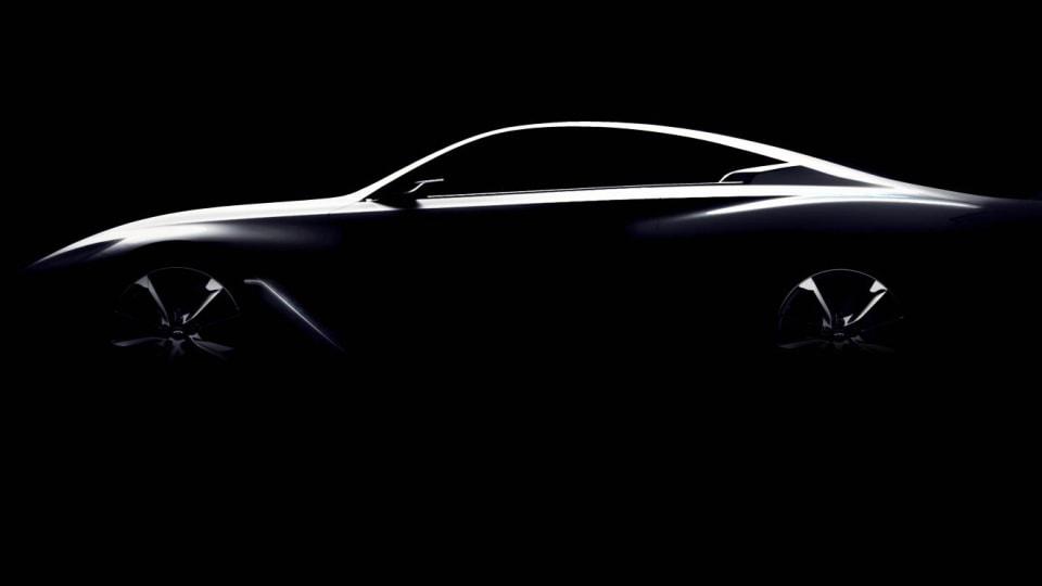New 2016 Infiniti Q60 Coupe Concept Bound For Detroit Auto Show