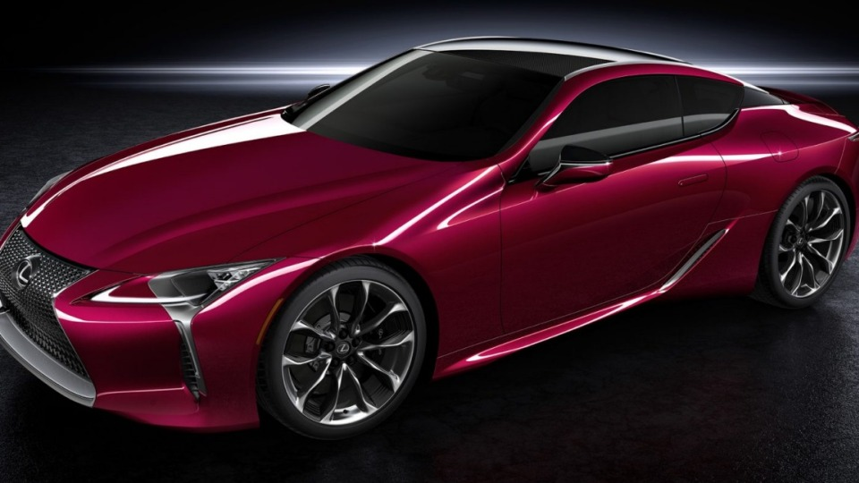 Lexus has unveiled a new two-door sports car known as the LC 500.