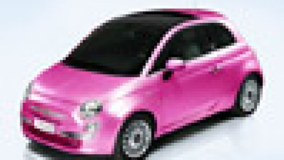 Fiat goes glam for Barbie