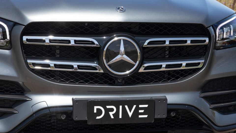 Drive Car of the Year Best Upper Large Luxury SUV 2021 finalist Mercedes-Benz GLS-Class grille