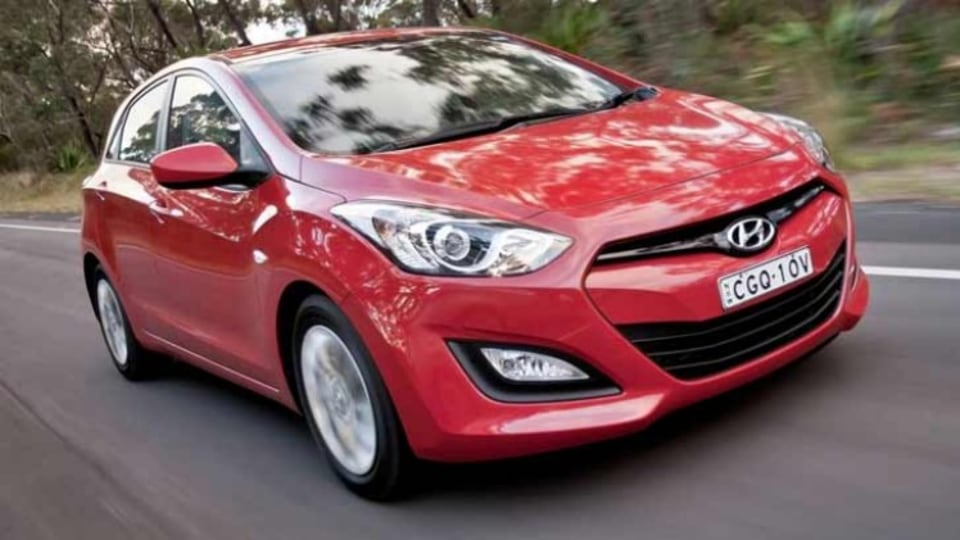 Hyundai's base i30 matches David's no-frills requirements and it also comes with fixed-priced servicing and a five-year-warranty.