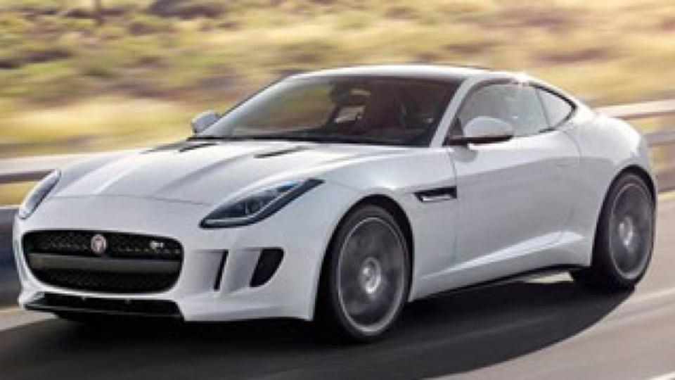 Jaguar F-Type coupe revealed
