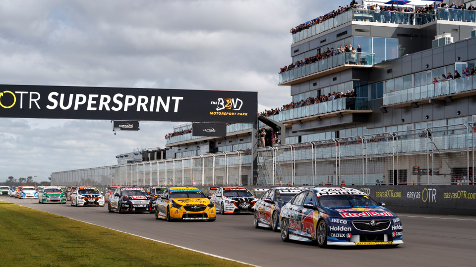 Jamie Whincup won Race 23 of the Supercars series.