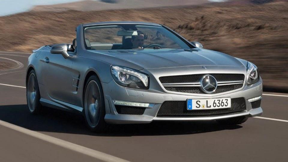2013 Mercedes-Benz SL 63 AMG In Australia By Third Quarter