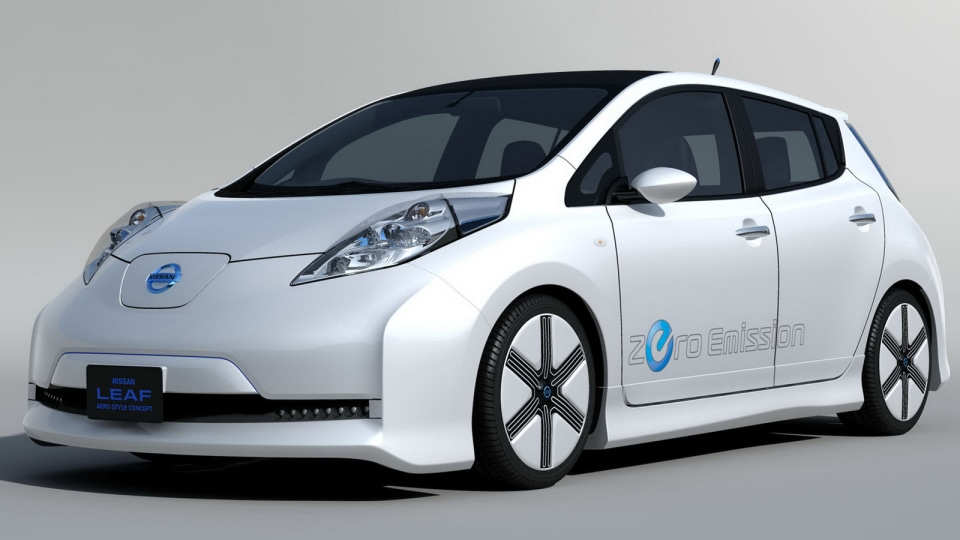 Nissan To Reveal Leaf Aero Concept And Nine Others At Tokyo Auto Salon