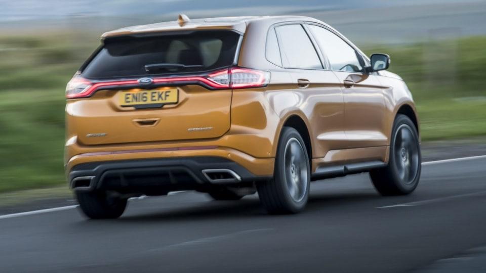 2016 Ford Edge (overseas model shown).