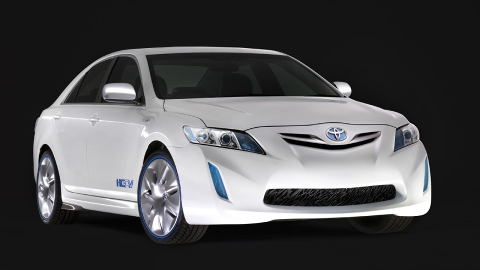 The HC-CV (Hybrid Camry Concept Vehicle), developed locally by Toyota Style Australia