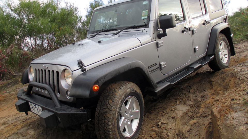 Jeep Wrangler Diesel Review: 2014 Unlimited Sport 2.8 CRD Automatic