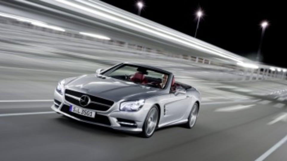 Mercedes-Benz SL400 first drive review