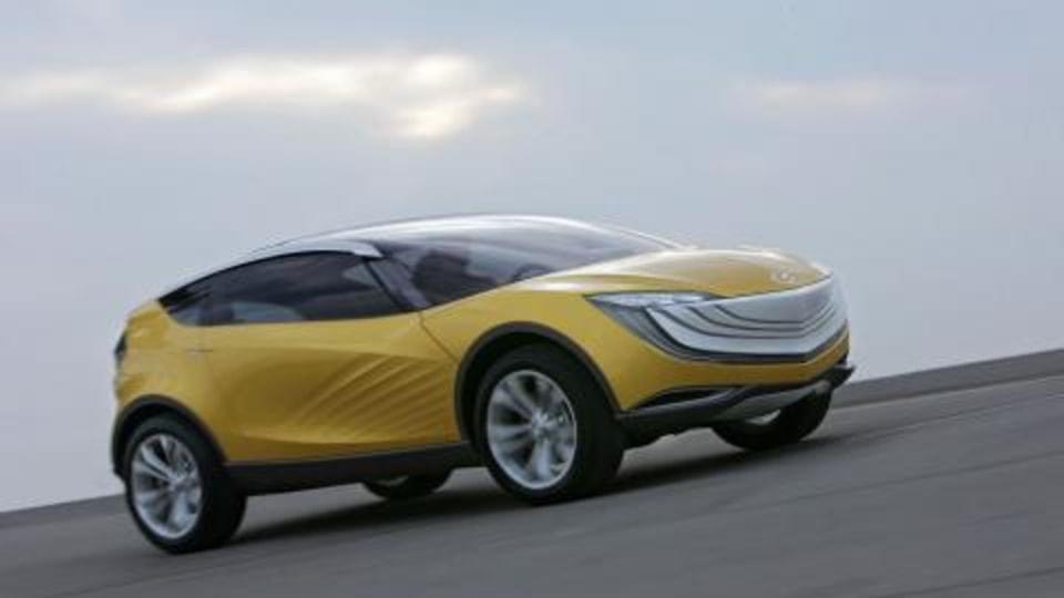 Mazda's Hakaze concept coming to the 2008 Melbourne Motor Show