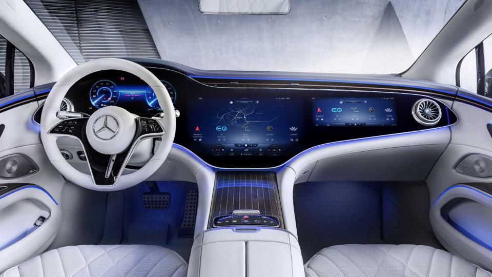 2022 Mercedes-Benz EQS revealed, Australian launch December 2021