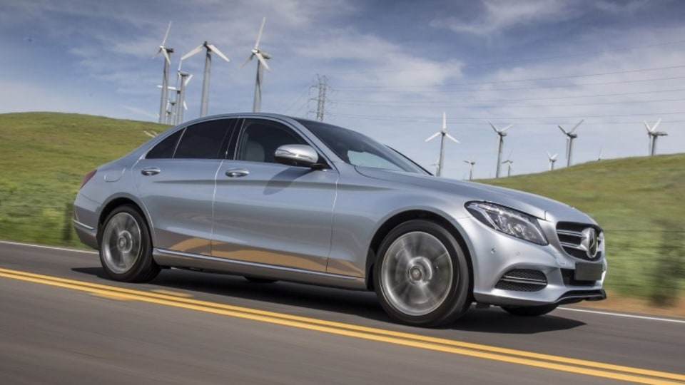 Mercedes-Benz C350e plug-in hybrid.