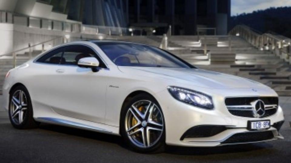 Mercedes-Benz S-class Coupe arrives
