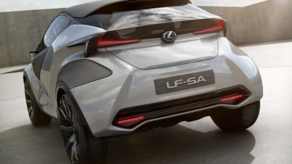 Lexus will unveil the car at the 2015 Geneva motor show.