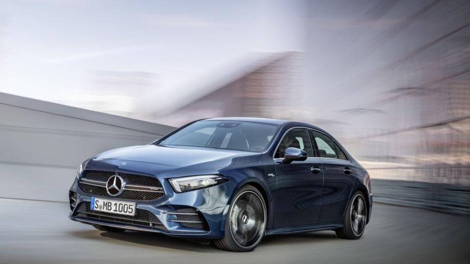 Mercedes reveals AMG A35 sedan