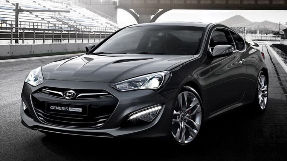 Hyundai Genesis Coupe Update Teased Further